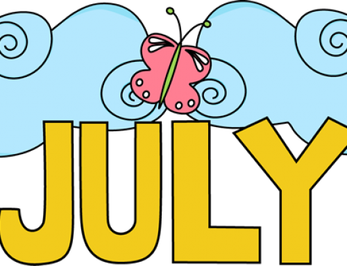 July and August Newsletter